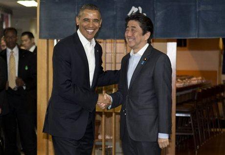Excellent, obama asian tour japan