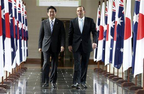 Australia Japan To Sign Free Trade Defense Deals Naharnet