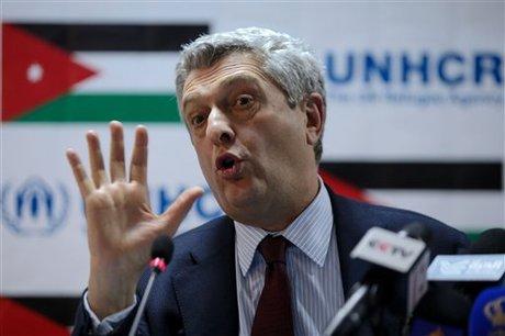 U N  Refugee Chief 'Understands' Jordan Security Fears — Naharnet