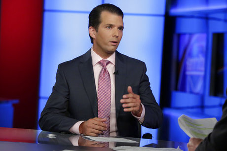 Trump's son tweets name of alleged whistleblower, breaking strict conventions for protection