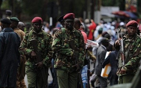 Extremists 'kill' 5 police officers in Kenya