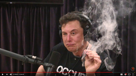 NASA Chief Scolded Musk Over Pot Smoking