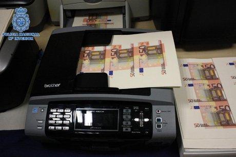 Spain Busts Huge Euro Forgery Network Naharnet