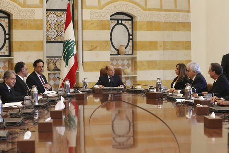 Lebanon's president calls for people to work from home amid virus outbreak