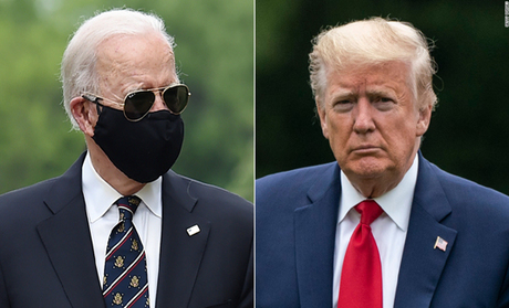 Biden emerges from quarantine on Memorial Day