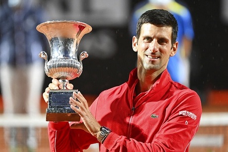 Djokovic Wins Fifth Rome Title For Record 36th Masters Crown Naharnet