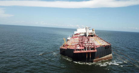 Concerns Grow Over Possible Gigantic Oil Spill by Stranded Venezuelan Tanker