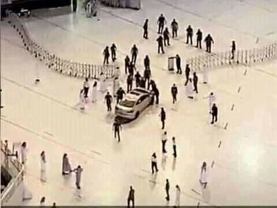 Saudi national crashes car into Makkah's Grand Mosque