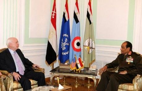 McCain Says Egypt Working to End NGO Row — Naharnet