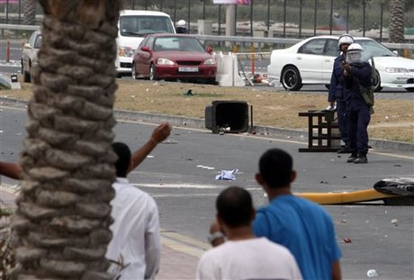 Bahrain Assailants Hurl Petrol Bombs at Foreign Ministry