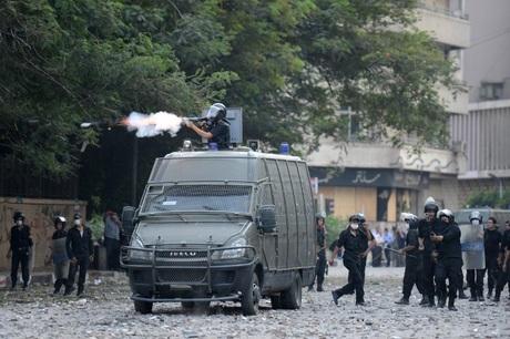 Image result for One police officer hurt, seven militants killed in Cairo —govt