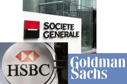 HSBC, Goldman, SocGen Holding Libyan Funds — Naharnet