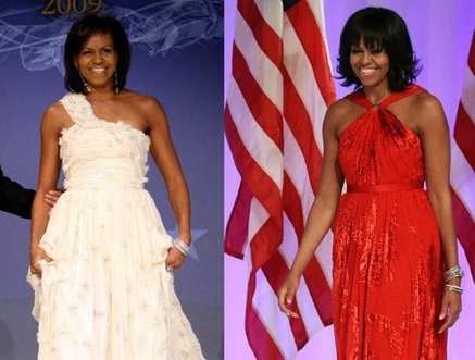 Michelle Obama Stays True to Jason Wu for Inaugural Gown — Naharnet