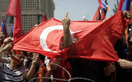 Armenians Families Of Pilgrims Unite Against Turkey On