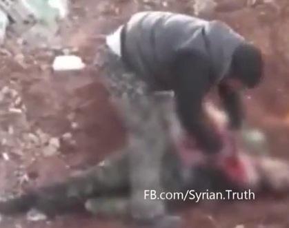 Syria Rebel Defends Gruesome Video as Revenge — Naharnet