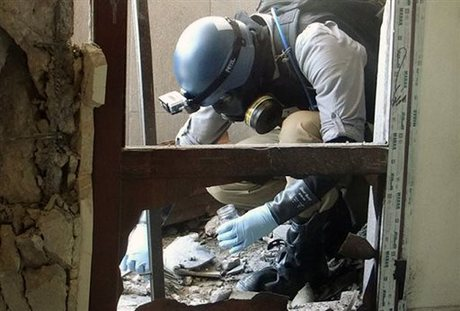 U N  Report: Surface-to-Surface Rockets Containing Sarin were Used